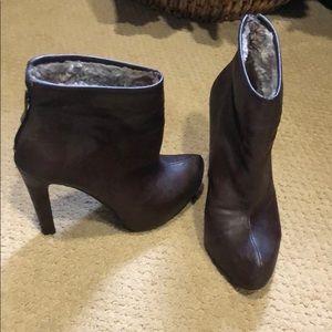BCBG brown booties